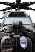 apache helicopter - stock photo