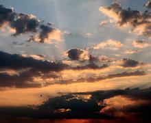 skyscape - stock photo