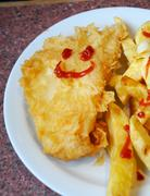 happy fish - stock photo