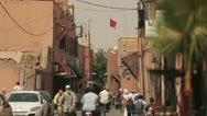 Stock Video Footage of Streets and people in Morocco