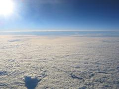 Earth photo from high altitude Stock Photos