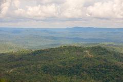 Ecuadorian Part Of The Amazon Basin High Point Of Observation Stock Photos