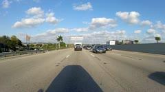 Miami Traffic Stock Footage