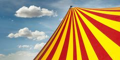 Circus dome Stock Photos