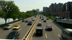 Storrow drive Boston - stock footage