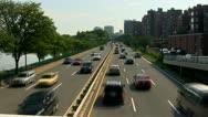 Storrow drive Boston Stock Footage