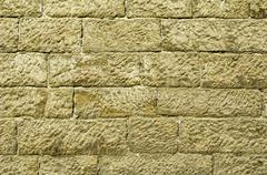 stone wall - stock illustration