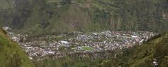 Banos De Agua Santa Is A Canton Of Ecuador Located In The Tungurahua Province Stock Photos