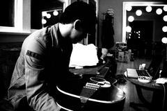 Guitar Man - stock photo
