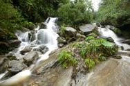 Stock Photo of waterfall on machay river