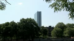 John Hancock Building Boston - stock footage