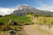 Stock Photo of mt. tungurahua