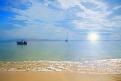 Serene Beach Stock Photos