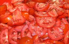 Sliced Tomato Stock Photos