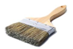 Stock Photo of Big Brush Isolated On White Background Studio Shot