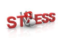 Käsite raskaiden stressiä Piirros
