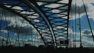 Crossing bridge 3 Stock Footage