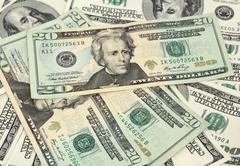 Yhdysvaltain dollaria tausta / usd tausta rakenne Kuvituskuvat