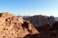 Stock Photo of Mt. Sinai Sunrise