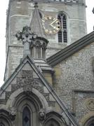 Stock Photo of Castle - Church