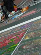 Street Painter - Dublin - stock photo