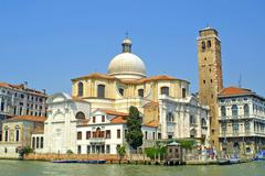 Church of San Geremia in Venice - stock photo