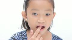Missing Teeth Stock Footage