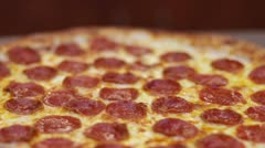Pizza - Dolly Shot Out Stock Footage