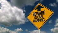 Global Warming Concept Stock Footage