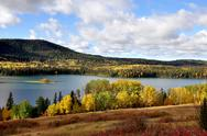 Stock Photo of Autumn lake