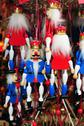 Nutcracker marionettes Stock Photos