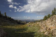Mountain morning Stock Photos