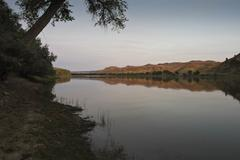 MG 8098 missouri river morning.jpg - stock photo