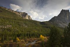 Fall in high country - stock photo