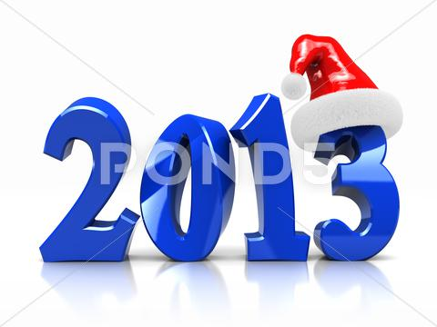 Stock Illustration of symbol of new year