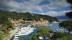 Portofino, Riviera di Levante, Liguria, Italy Stock Footage