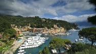 Stock Video Footage of Portofino, Riviera di Levante, Liguria, Italy