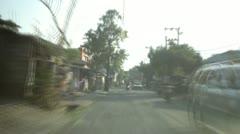 Bali Traffic Stock Footage