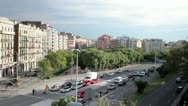 Barcelona traffic Stock Footage