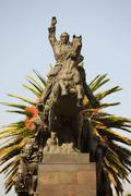 Statue Of Simon Bolivar In Quito Ecuador Complete Name Simon Jose Antonio De La - stock photo
