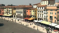 Piazza Bra, Verona Stock Footage