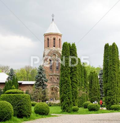Stock photo of arges monastery
