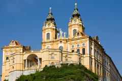 Melk Abbey Or Stift Melk Is An Austrian Benedictine Abbey And One Of The World Stock Photos