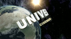 Universum Cinematic Logo Intro template - stock after effects