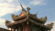 Stock Video Footage of Baoan temple timelapse