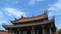 Taipei Confucius temple timelapse Stock Footage