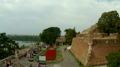 Belgrade Fortress Stock Footage