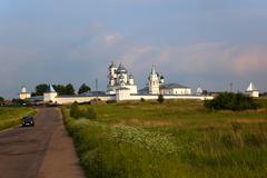 monastery. pereslavl zalessky. russia. - stock photo