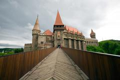 It Is Believed To Be The Place Where Vlad Iii Of Wallachia Commonly Known As - stock photo