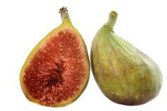 Green figs Stock Photos